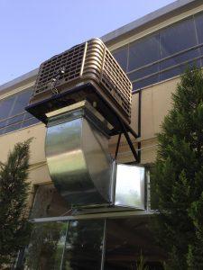 fabrika serinletme evaporatif sulu klima uygulaması
