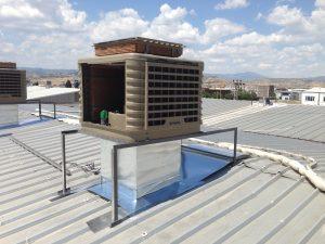 sulu klima çatı uygulaması