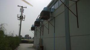 yandan evaporatif sulu soğutucu uygulaması