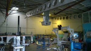 fabrika içi sulu klima endüstriyel klima uygulama