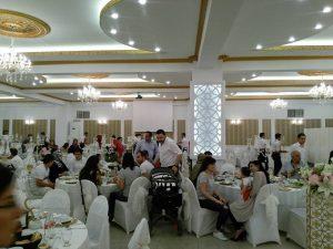 düğün salonu evaporatif sulu klima uygulaması