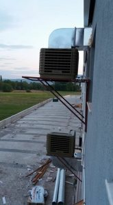 springday endüstriyel evaporatif sulu klima