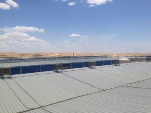 endüstriyel sulu klima uygulama