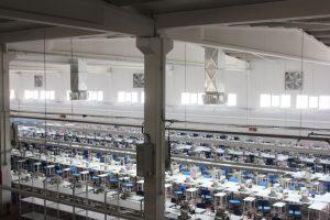 Springday s300 endüstriyel klima tekstil fabrikası emiş ve üfleme uygulaması-2