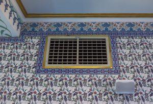 springday s200 evaporatif soğutucu cami uygulaması iç görünüm