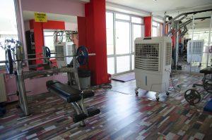 springday s80 mobil soğutucu (sulu klima) spor salonu uygulaması