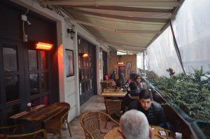 springday sir-25 ısıtıcı cafe uygulması açık alan